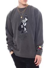 Sweatshirts & Sweaters - Playboy Ace of Spades Crew Sweatshirt-2594910