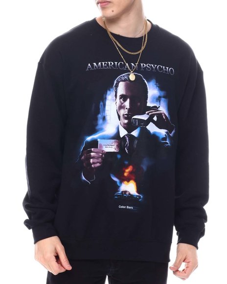 Color Bars - American Psycho Poster Crewneck Sweatshirt