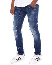 Jeans - Paint Splatter Distressed Skinny Jean-2594066