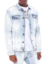 Denim Jackets - Multi Paint Jean Jacket-2595046