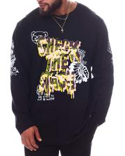 Big & Tall - Check The Stash Long Sleeve T-Shirt (B&T)-2595784