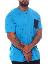 Buyers Picks - Palm Tree Tropical Printed Crew Neck T-Shirt (B&T)-2595799