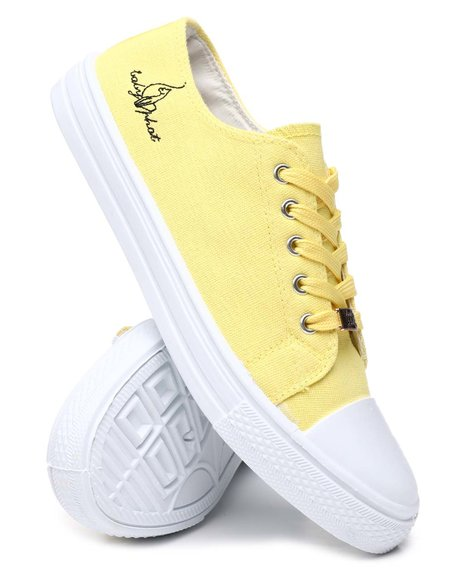 Baby Phat - Fucat Low Vulc Lace-Up Sneakers