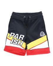Shorts - Color Block Track Shorts (2T-4T)-2592836