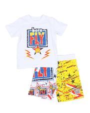 Sets - 2 Pc Born Fly Tee & Shorts Set (2T-4T)-2589146