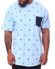Big & Tall - Nautical Sail Printed Crew Neck T-Shirt (B&T)-2595955
