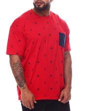 Big & Tall - Nautical Sail Printed Crew Neck T-Shirt (B&T)-2595963