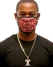 Face Coverings - King Ice x Death Row Records - All Over Face Mask-2596186
