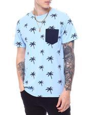 Men - Palm Tree Print Pocket S/S Tee-2595495