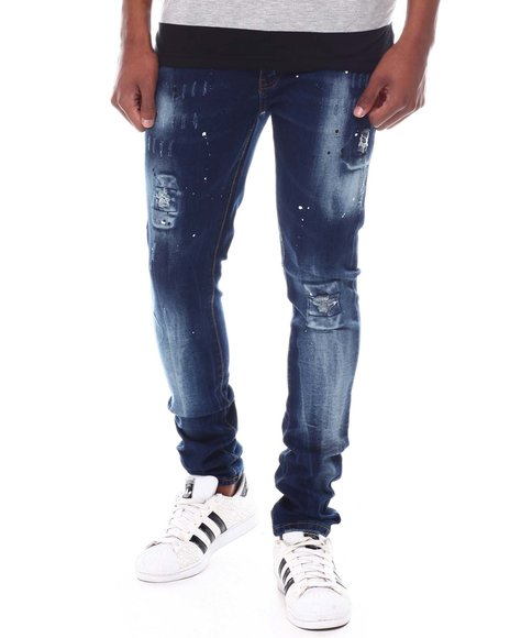Buyers Picks - Distressed and Paint Splatter Jean