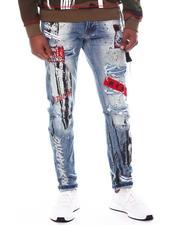 SMOKE RISE - Slim Fit Punk Jean-2596652