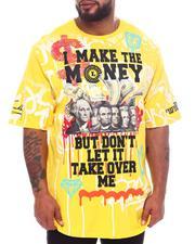 Big & Tall - I Make The Money Graphic T-Shirt (B&T)-2598347