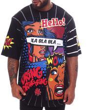 Big & Tall - Bla Bla Bla Graphic T-Shirt (B&T)-2598393