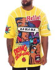 Big & Tall - Bla Bla Bla Graphic T-Shirt (B&T)-2598407