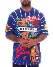 Big & Tall - Bla Bla Bla Graphic T-Shirt (B&T)-2598411