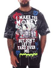 Big & Tall - I Make The Money Graphic T-Shirt (B&T)-2598485