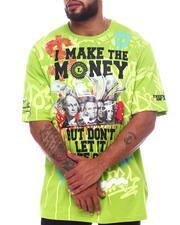 Big & Tall - I Make The Money Graphic T-Shirt (B&T)-2598489