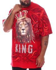 Big & Tall - King Lion T-Shirt (B&T)-2598232