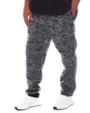 Big & Tall - Fleece Sweatpants with Zipper Pockets (B&T)-2598990