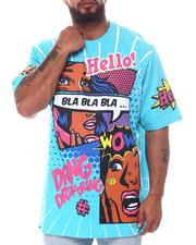 Big & Tall - Bla Bla Bla Graphic T-Shirt (B&T)-2598433