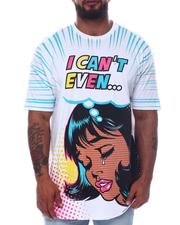 Big & Tall - I Can't Even Graphic T-Shirt (B&T)-2598458