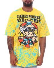 Big & Tall - Take The Money & Run Graphic T-Shirt (B&T)-2598470