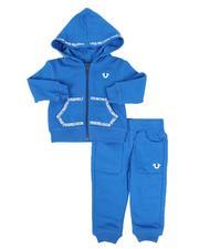 True Religion - 2 Pc Full Zip Hoodie & Jogger Pants Set (Infant)-2589141