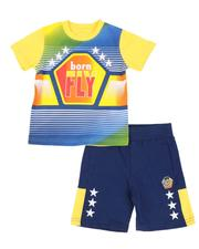 Sets - 2 Pc Born Fly Tee & Shorts Set (2T-4T)-2589150
