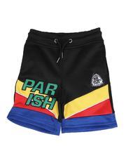 Shorts - Color Block Track Shorts (2T-4T)-2592827
