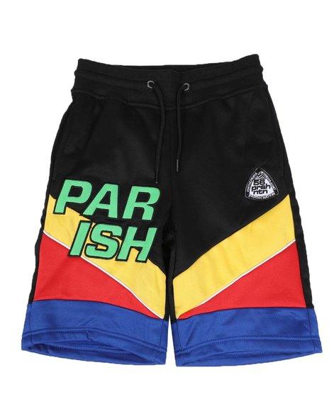 Parish - Color Block Track Shorts (8-20)