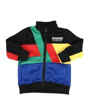 Activewear - Color Block Track Jacket (2T-4T)-2592909