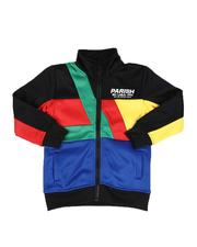 Activewear - Color Block Track Jacket (4-7)-2593025