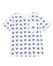 Adidas - Brand Love Printed Tee (8-20)-2593055