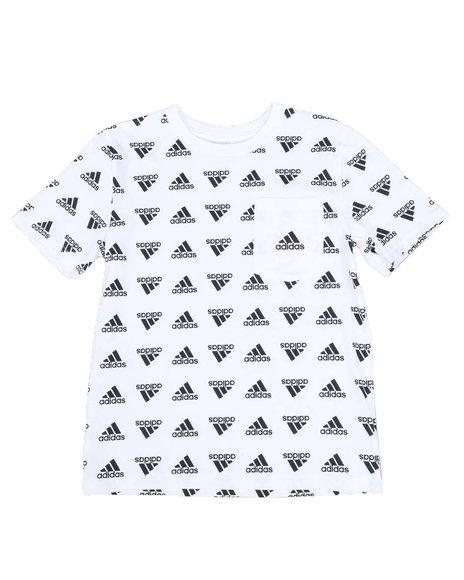 Adidas - Brand Love Printed Tee (8-20)