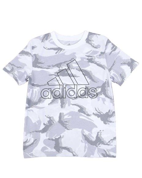Adidas - Action Camo Print Tee (8-20)