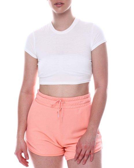 Fashion Lab - Short Sleeve Crop Top