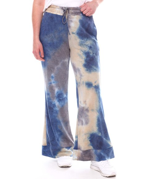 Fashion Lab - High Waist French Terry Flare Lounge Pants