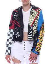 Outerwear - Multi color biker Jacket-2597752