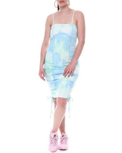 Fashion Lab - Shoulder Pad Knit Mini Dress