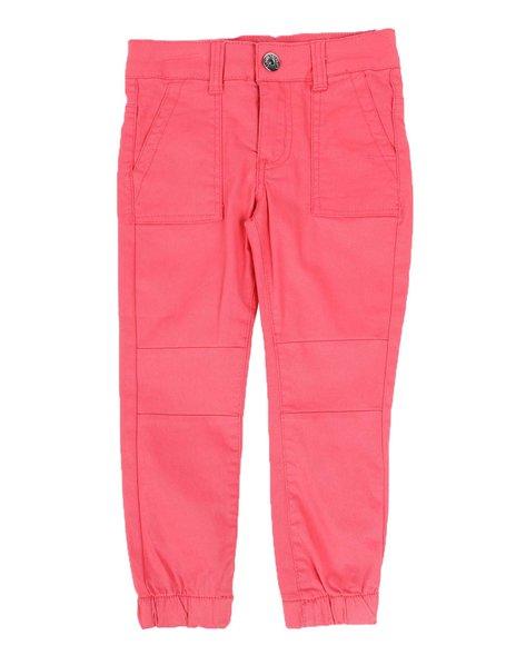 La Galleria - Twill Cargo Jogger Pants (4-6X)