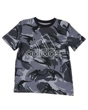 Adidas - Action Camo Print Tee (8-20)-2593816