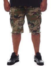 Big & Tall - Cargo Pocket Twill Shorts (B&T)-2598157