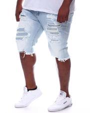 Big & Tall - Distressed Denim Shorts (B&T)-2598243