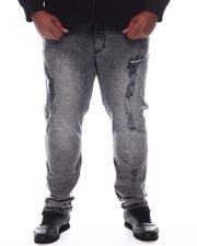 Men - Distressed Slim Fit Jeans (B&T)-2592535