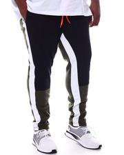 Jeans & Pants - Color Block Fleece Joggers (B&T)-2599314