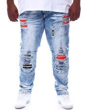 Makobi - Shredded Jeans With Paint Splatter Spots (B&T)-2595829