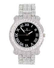 Jewelry & Watches - Analog Watch With Blinged Out Bracelet Set-2598006