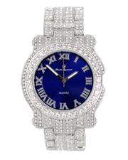 Buyers Picks - Analog Watch With Blinged Out Bracelet Set-2598018