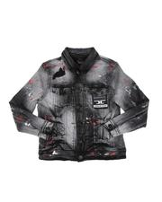 Jordan Craig - Paint Splatter Denim Jacket (8-18)-2592315