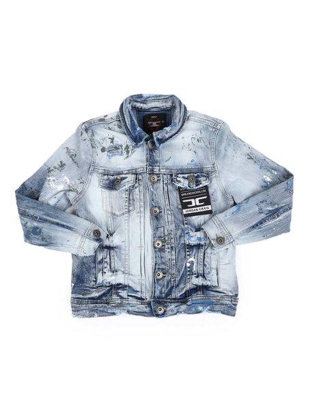 Jordan Craig - Paint Splatter Denim Jacket (8-18)